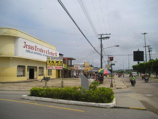 Tabatinga main street