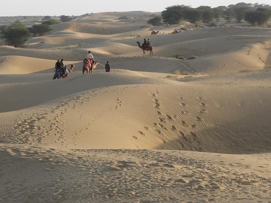 Around Jaisalmer - Sam Dunes 1