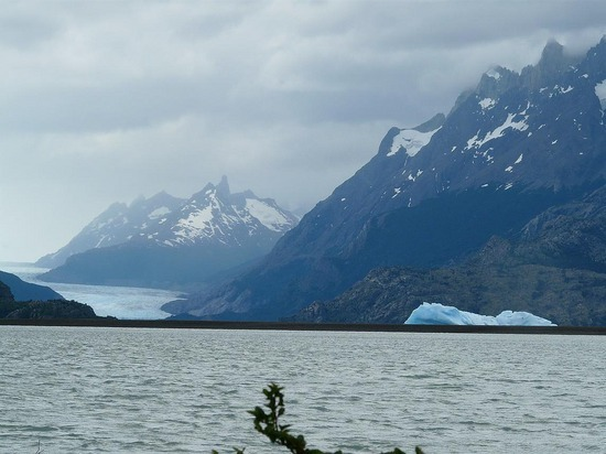 Torres del Paine trip - Lago Grey and glacier