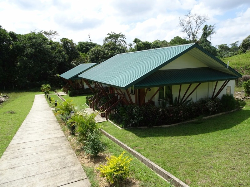 Our cabin in Sepilok