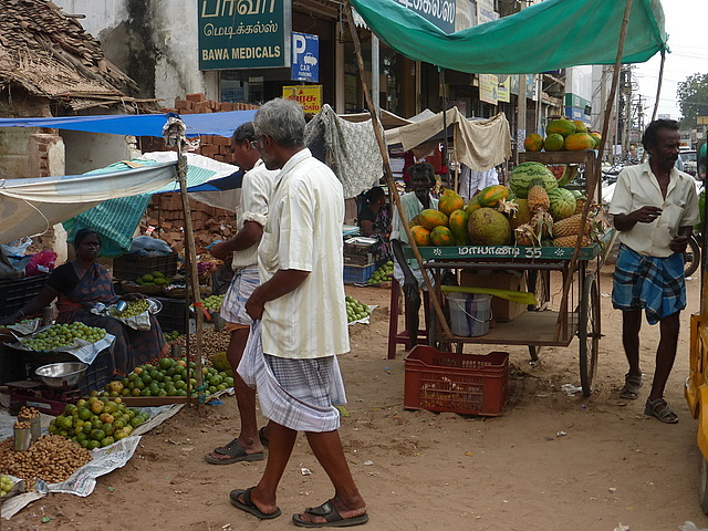 Around Town - more fruit sellers