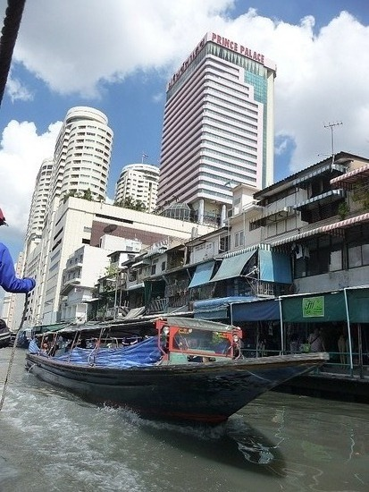 Central Bangkok by boat