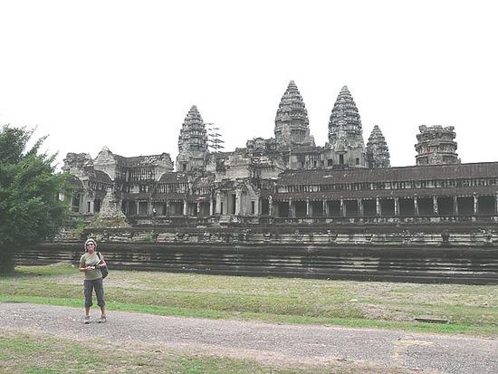 Angkor Wat from rear