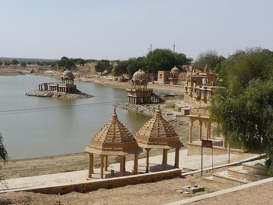 Around Jaisalmer - Gadi Sagar Lake 3