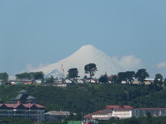 Nav Day 1 - Osuna volcano behind Puerto Montt