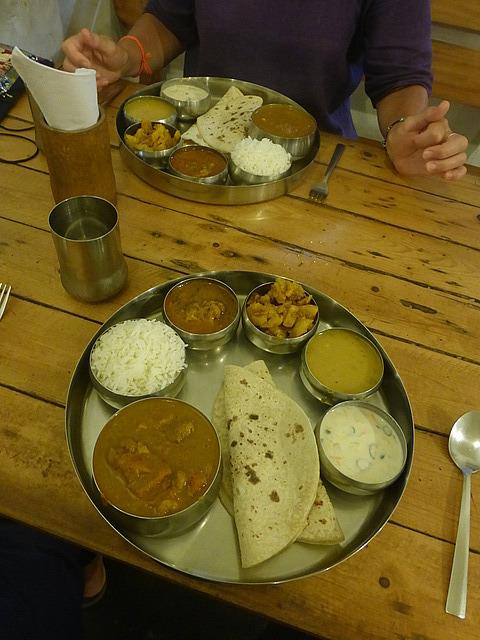 Dal Roti restaurant - Thali