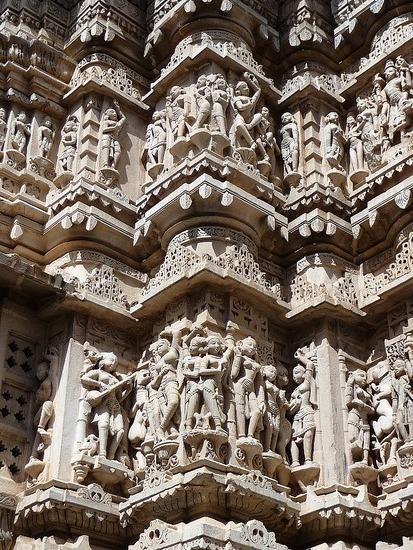 Jagdish Temple detail
