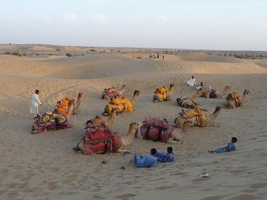 Around Jaisalmer - Sam Dunes 3