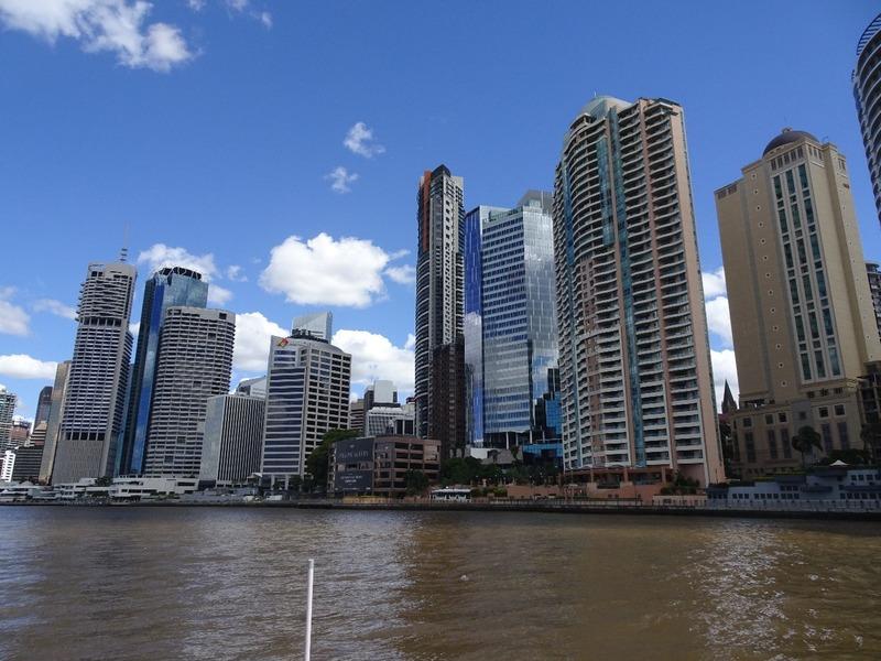 Brisbane River - downtown