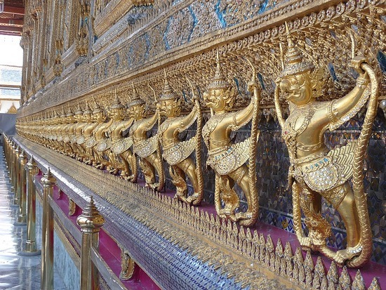 Wat Phra Keo and Grand Palace 8