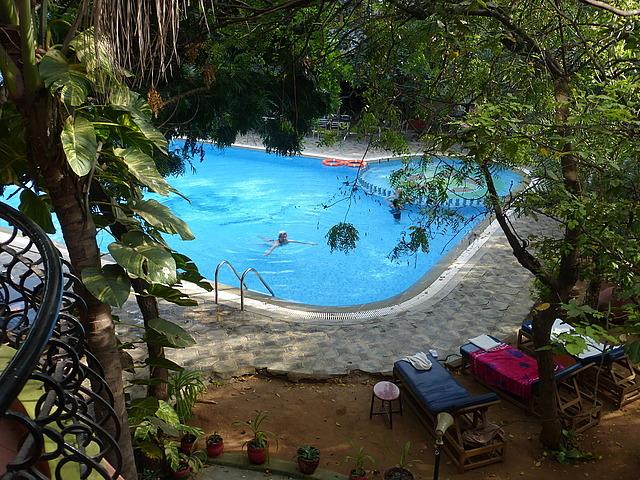Hotel Mahabs - view from balcony