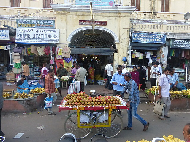 Devajera market - south entrance