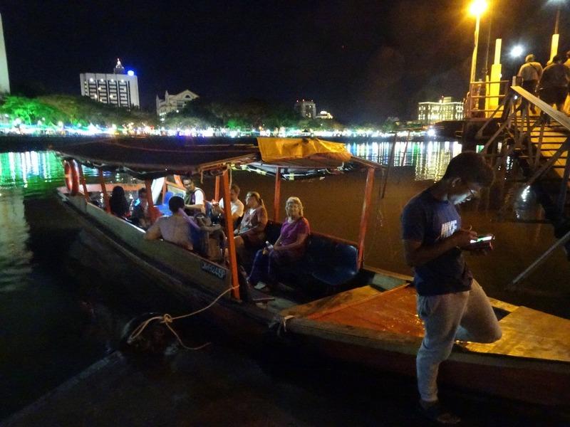 Waterfront at night 2