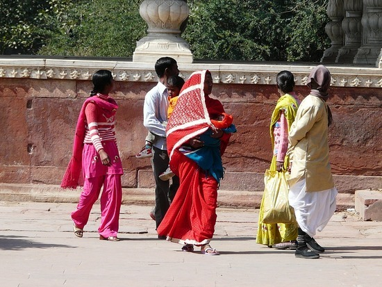 Sights - Red Fort Visitors
