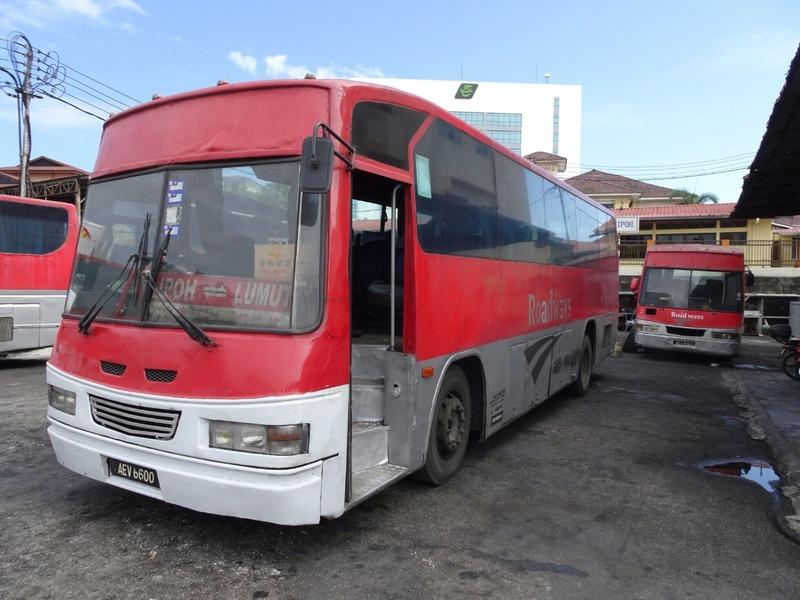 Ipoh to Lumut bus