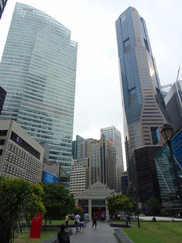 Skyview from Raffles Place