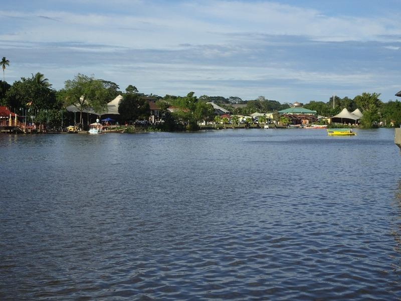 Waterfront - Sarawak river