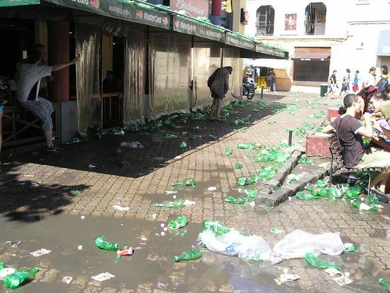 Mercado del Puerto - New Years Eve - Aftermath !