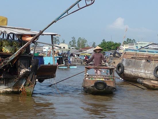 Nr Can Tho - Cam Rai Floating Market 4