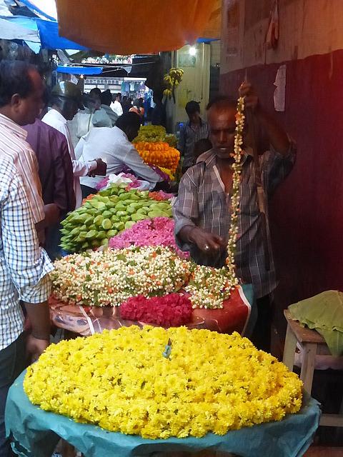 Devaraja Market - late afternoon