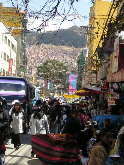 La Paz - Heading up to Negro Market