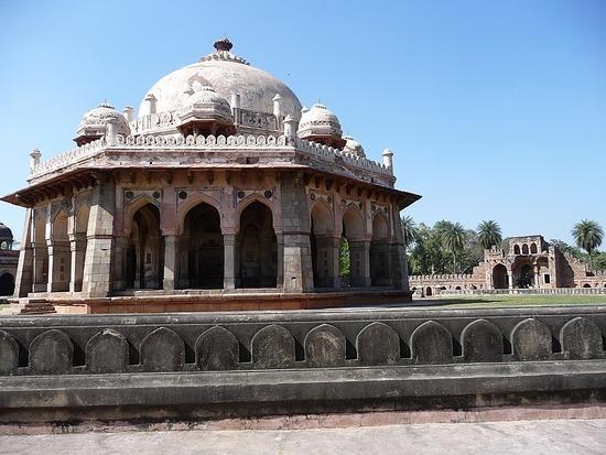Sights - Humayun Tombs Area 4