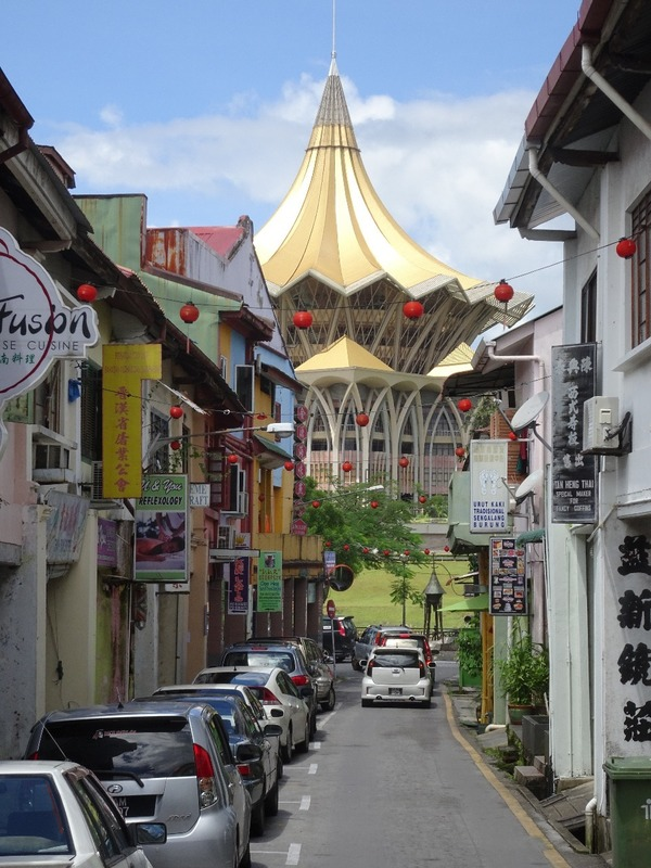 Around Kuching - view off Carpenter Street