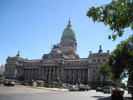 BA - Ave de Mayo - Palacio del Congress