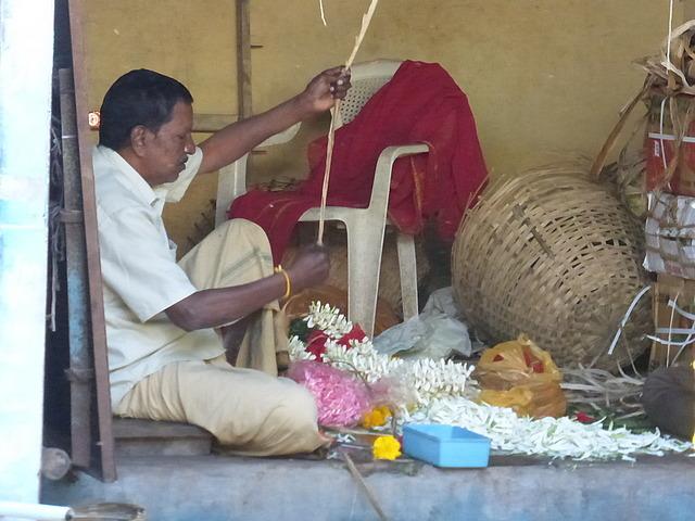 Market petals production
