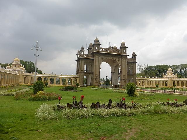 Mysore Palace - East entrance