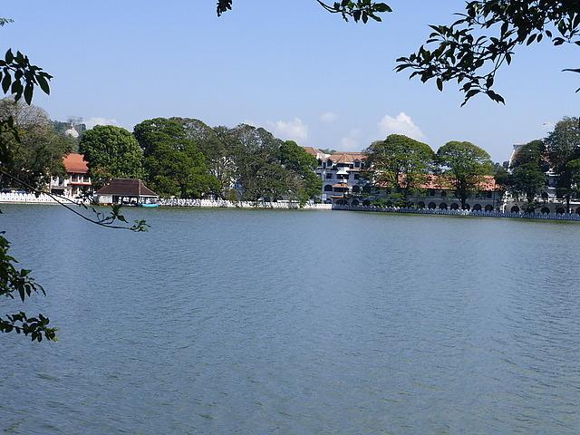 Lake towards town