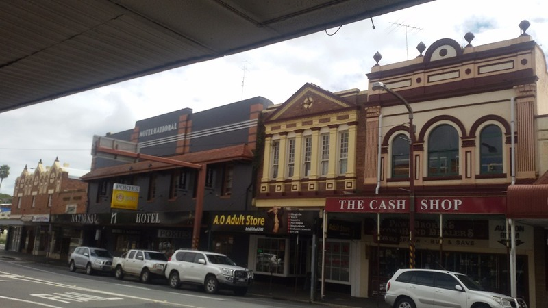 Toowoomba town centre