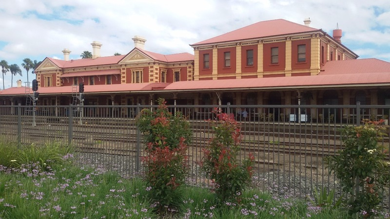 Toowoomba town centre - old train station
