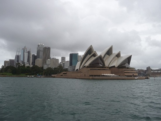 Sydney Opera House from Watson Bay Boat 3