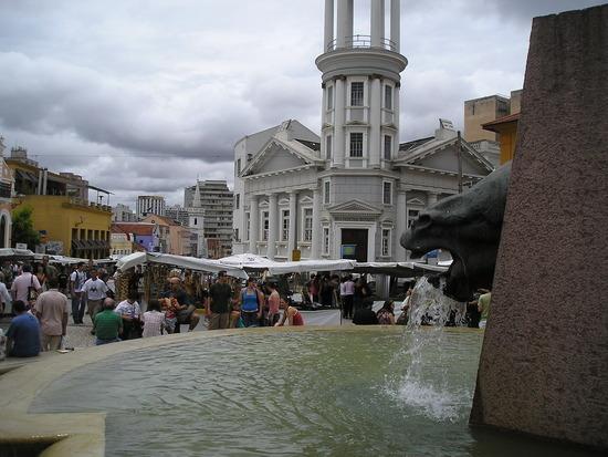 Curitiba - Historic area - Sunday market 1