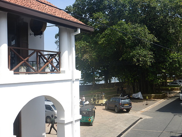 Guest house - view from balcony