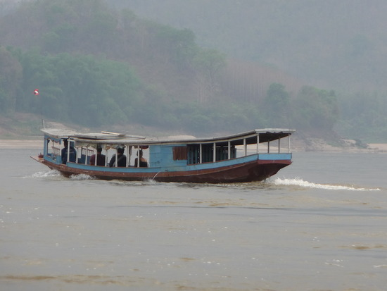 Boat Trip up Mekong to Pak Ou Caves 2