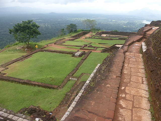 Top of Sigiriya rock 1