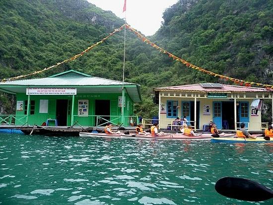 Kayaking - Local school !