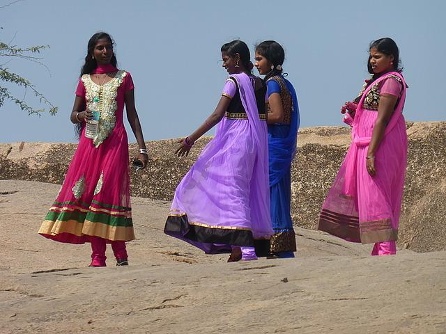 Mamallapuram hill - local fashion