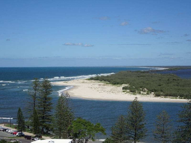 View from apartment - Bribie Island