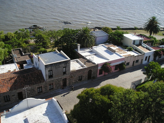 Colonia del Sacramento view from Lighthouse 2