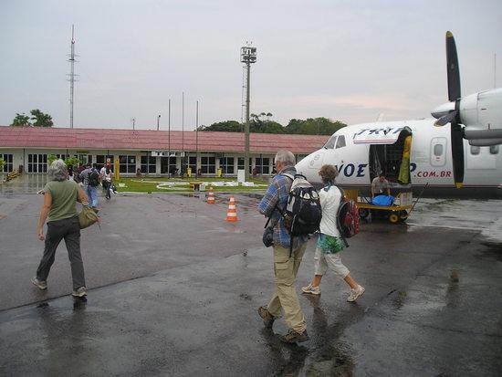 Trip Airlines - Success - Arrival in Téfé!