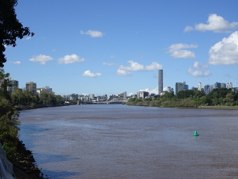 Brisbane River - return trip down river
