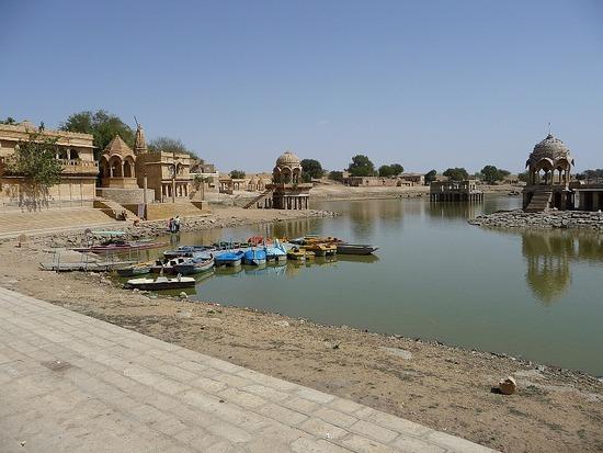 Around Jaisalmer - Gadi Sagar Lake 1