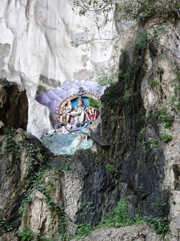 Batu Caves - detail on cave walls 2