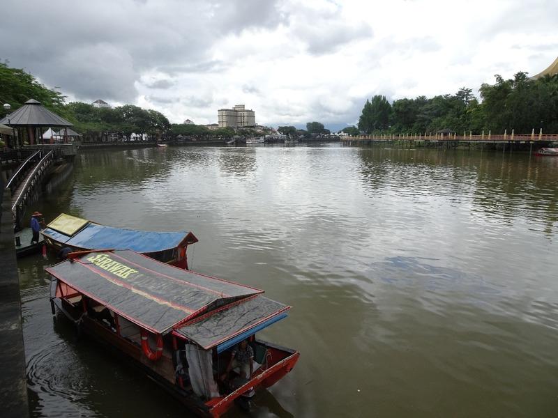 Around Kuching  - waterfront