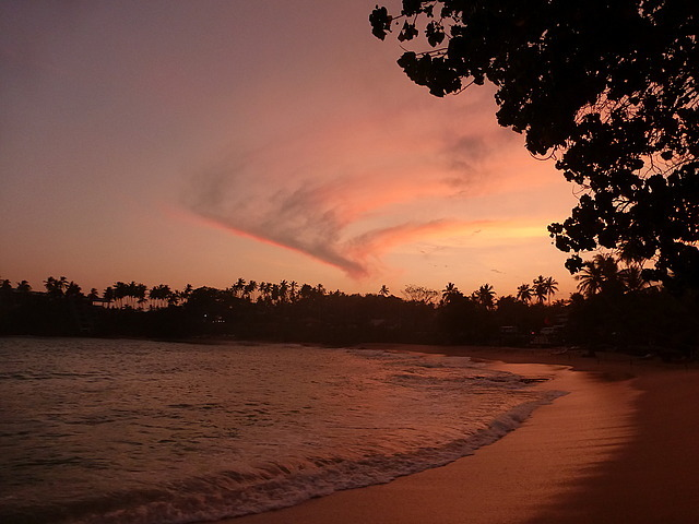 Tangalla sunset
