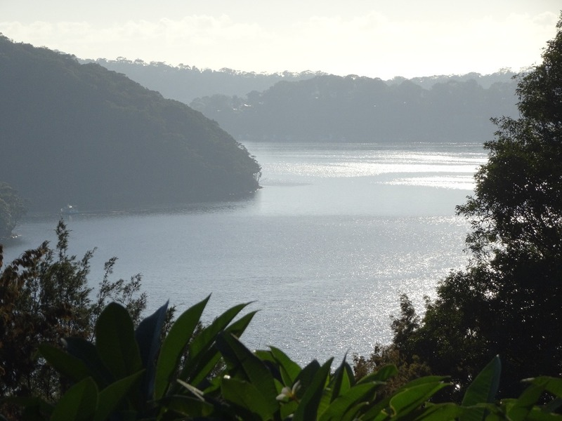 Early morning view from Pittwater YHA