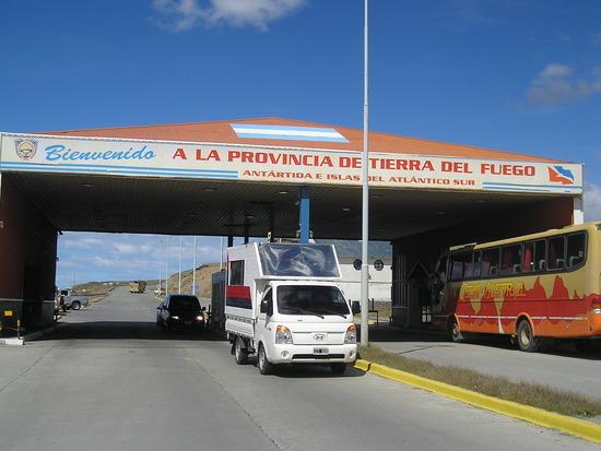 Welcome to Tierra del Fuego! (Border control)